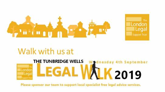 Legal Aid Walk 4th September 2019